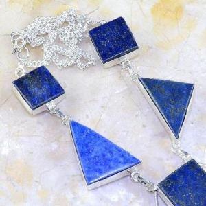 Lpc 144c collier parure lapis lazuli corail achat vente bijou argent 925