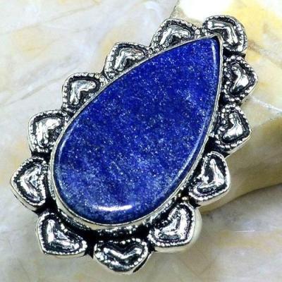 Lpc 145a bague t62 lapis lazuli bijou ethnique afghanistan afghan argent 925 achat vente