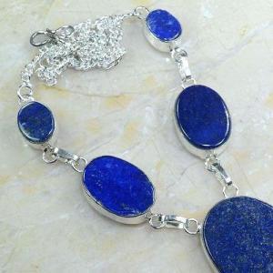 Lpc 147c collier parure sautoir lapis lazuli achat vente bijou argent 925
