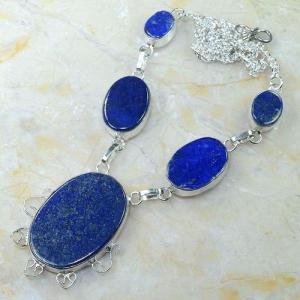 Lpc 147d collier parure sautoir lapis lazuli achat vente bijou argent 925