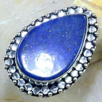 Lpc 148a bague t58 lapis lazuli bijou ethnique afghanistan afghan argent 925 achat vente