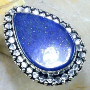 Lpc 148b bague t58 lapis lazuli bijou ethnique afghanistan afghan argent 925 achat vente