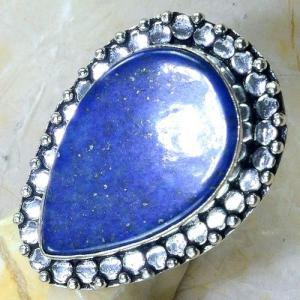 Lpc 148c bague t58 lapis lazuli bijou ethnique afghanistan afghan argent 925 achat vente