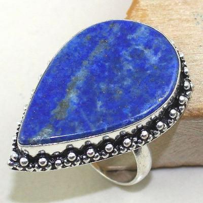 Lpc 158a bague t61 lapis lazuli bijou ethnique afghanistan afghan argent 925 achat vente