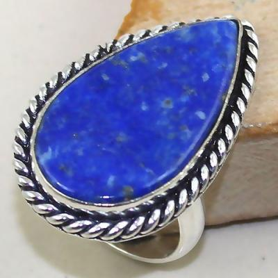 Lpc 162a bague t61 lapis lazuli bijou ethnique afghanistan afghan argent 925 achat vente