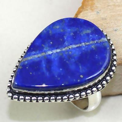 Lpc 163a bague t62 lapis lazuli bijou ethnique afghanistan afghan argent 925 achat vente