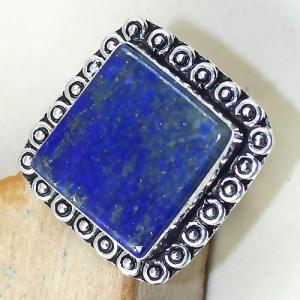 Lpc 164c bague t59 lapis lazuli bijou ethnique afghanistan afghan argent 925 achat vente