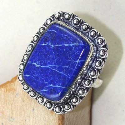 Lpc 172c bague t60 lapis lazuli bijou ethnique afghanistan afghan argent 925 achat vente