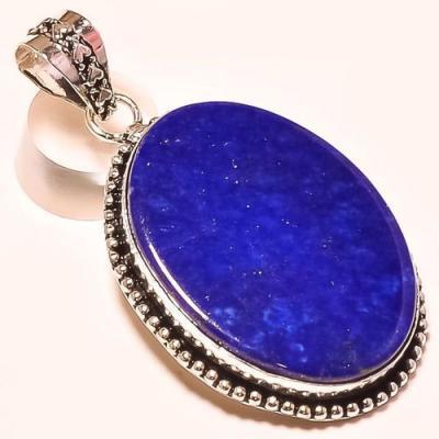 Lpc 180a pendentif pendant lapis lazuli bijou ethnique afghanistan afghan argent 925 achat vente
