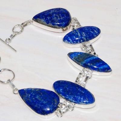 Lpc 205b bracelet lapis lazuli bleu bijou ethnique tibet afghanistan argent 925 achat vente