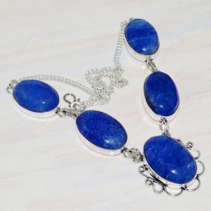 Lpc 209a collier sautoir parure lapis lazuli bijou ethnique tibet afghan argent 925 achat vente