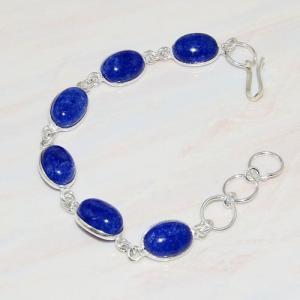 Lpc 213a bracelet lapis lazuli bijou ethnique tibet afghan afghanistan argent 925 achat vente