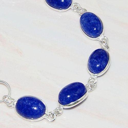 Lpc 213b bracelet lapis lazuli bijou ethnique tibet afghan afghanistan argent 925 achat vente