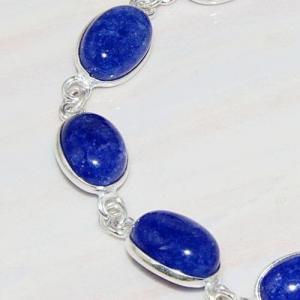 Lpc 213c bracelet lapis lazuli bijou ethnique tibet afghan afghanistan argent 925 achat vente