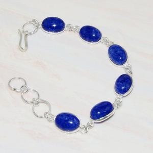 Lpc 213d bracelet lapis lazuli bijou ethnique tibet afghan afghanistan argent 925 achat vente