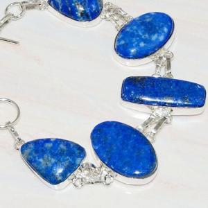 Lpc 219b bracelet lapis lazuli bleu ethnique tibet afghan afghanistan argent 925 achat vente