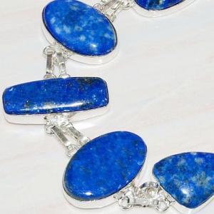 Lpc 219c bracelet lapis lazuli bleu ethnique tibet afghan afghanistan argent 925 achat vente