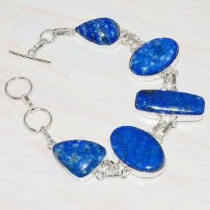 Lpc 219d bracelet lapis lazuli bleu ethnique tibet afghan afghanistan argent 925 achat vente