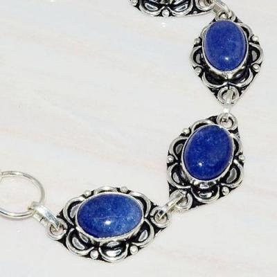 Lpc 235b bracelet lapis lazuli bleu ethnique tibet afghan afghanistan argent 925 achat vente