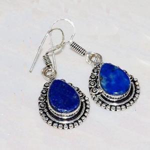 Lpc 236c collier boucles oreilles lapis lazuli bijou ethnique afghanistan argent achat vente