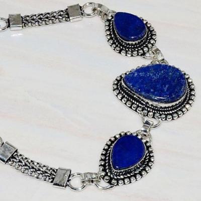 Lpc 270b bracelet lapis lazuli 22x15mm egyptien afghan bijou argent 925 achat vente