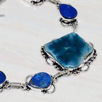 Lpc 271b bracelet lapis lazuli agate solar egyptien afghan bijou argent 925 achat vente
