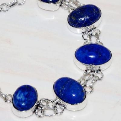 Lpc 279b bracelet 26gr lapis lazuli 12x16mm egyptien afghan bijou argent 925 achat vente