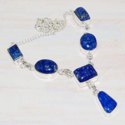 Lpc 286a collier boucles oreilles lapis lazuli 30gr topaze bleu afghan argent 925 achat vente