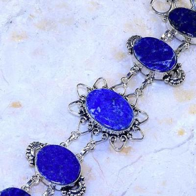 Lpc 301b bracelet 30gr lapis lazuli 18x24a tibet chine afghan bijou argent 925 achat vente