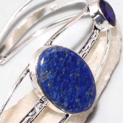 Lpc 312c bracelet 22gr lapis lazuli tibet afghan bijou ethnique argent 925 achat vente