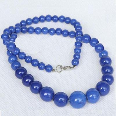 Lpc 331a collier parure sautoir lapis lazuli 6 14mm tibet chine afghan bijou argent 925 achat vente
