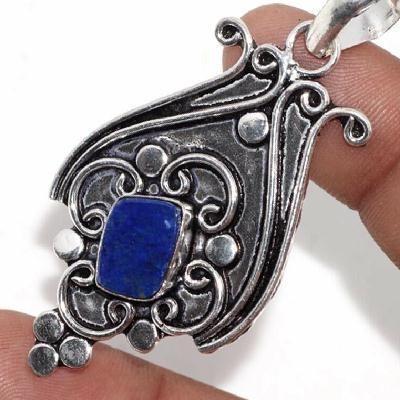 Lpc 462a pendentif pendant 7gr lapis lazuli bijoux ethniques argent achat vente