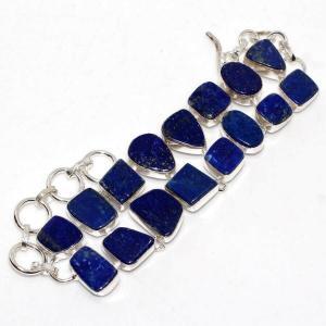 Lpc 463a bracelet 38gr lapis lazuli 15x10mm bijoux ethniques argent achat vente
