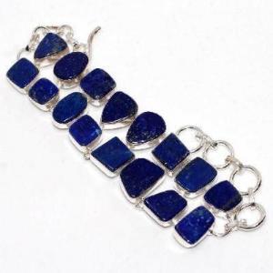 Lpc 463b bracelet 38gr lapis lazuli 15x10mm bijoux ethniques argent achat vente