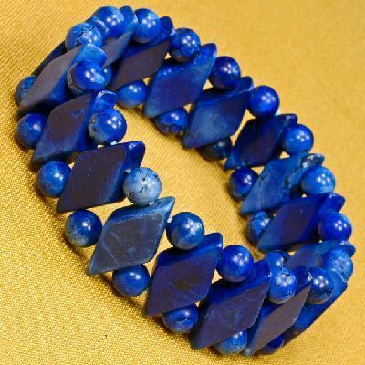 Lpc 480a bracelet egyptien lapis lazuli 28gr