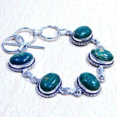 Mal 025a bracelet malachite achat vente bijou ethnique argent 925