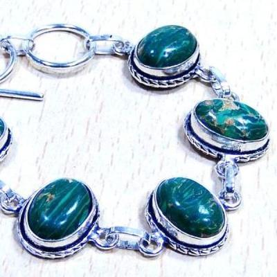 Mal 025c bracelet malachite achat vente bijou ethnique argent 926