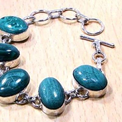 Mal 038b bracelet malachite achat vente bijou ethnique argent 925