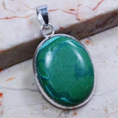Mal 053a pendentif pendant malachite achat vente bijou argent 926