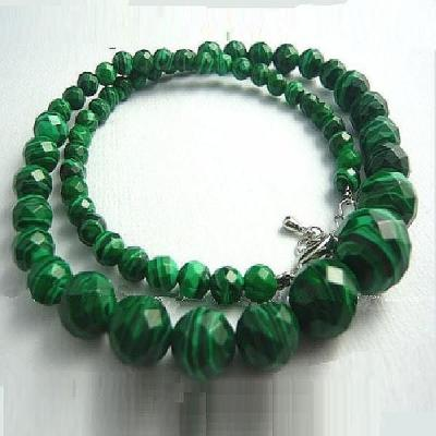 Mal 066a collier parure malachite achat vente bijoux argent 925 ethnique