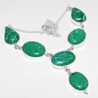 Mal 071a collier parure sautoir malachite achat vente bijou argent 925