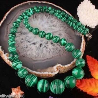 Mal 095a collier 6x14mm parure sautoir malachite achat vente bijou argent 925