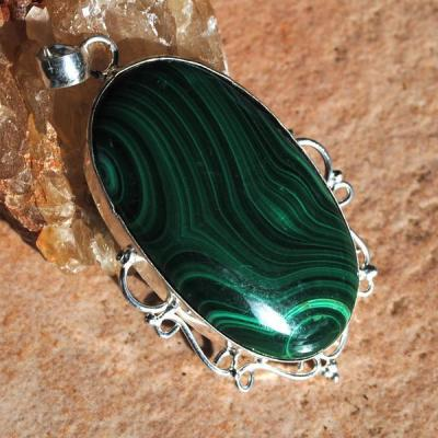 Mal 142a pendentif malachite achat vente bijou argent 925 jpg5