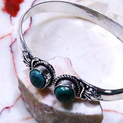 Mal 149b bracelet torque malachite achat vente bijou ethnique argent 925