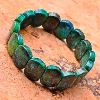 Mal 247c bracelet 32gr malachite verte 15x18mm achat vente bijoux argent 925 ethnique 3