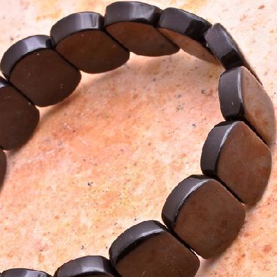 On 0136b bracelet onyx noir achat vente