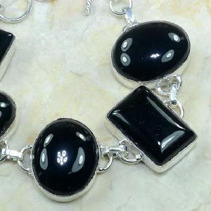 On 0281b bracelet onyx noir achat vente bijou argent 925