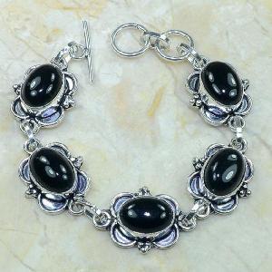 On 0283c bracelet onyx noir achat vente bijou argent 925