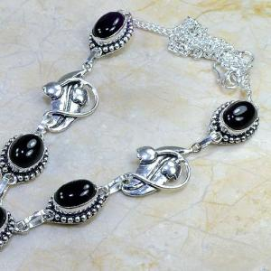 On 0291b collier sautoir onyx noir parure bijou 1900 art deco achat vente