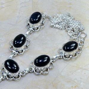 On 0301c collier sautoir onyx noir parure bijou 1900 art deco achat vente